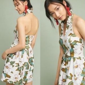 5.  New Anthropologie Magnolia Ruffled Dress Larke